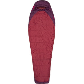 Marmot Trestles Elite 20 Sleeping Bag Women Regular Madder Red/Dark Purple